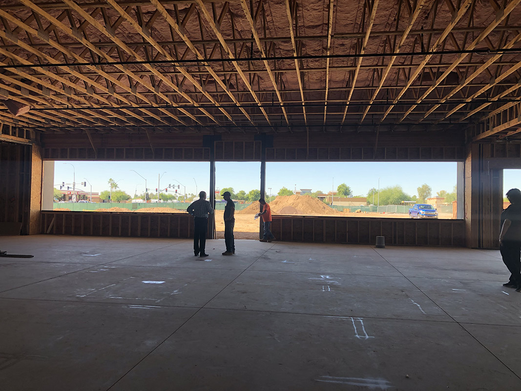 New medical office under construction